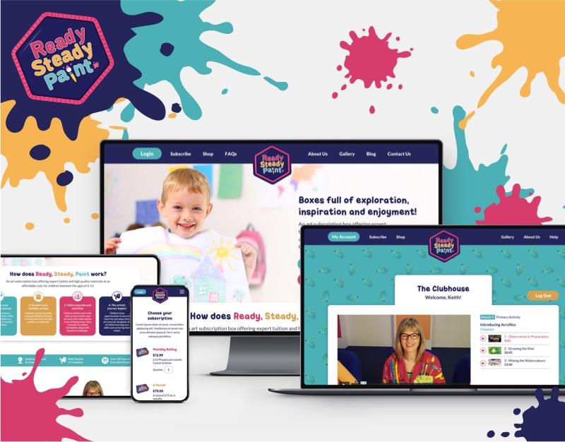 Ready, Steady, Paint! website