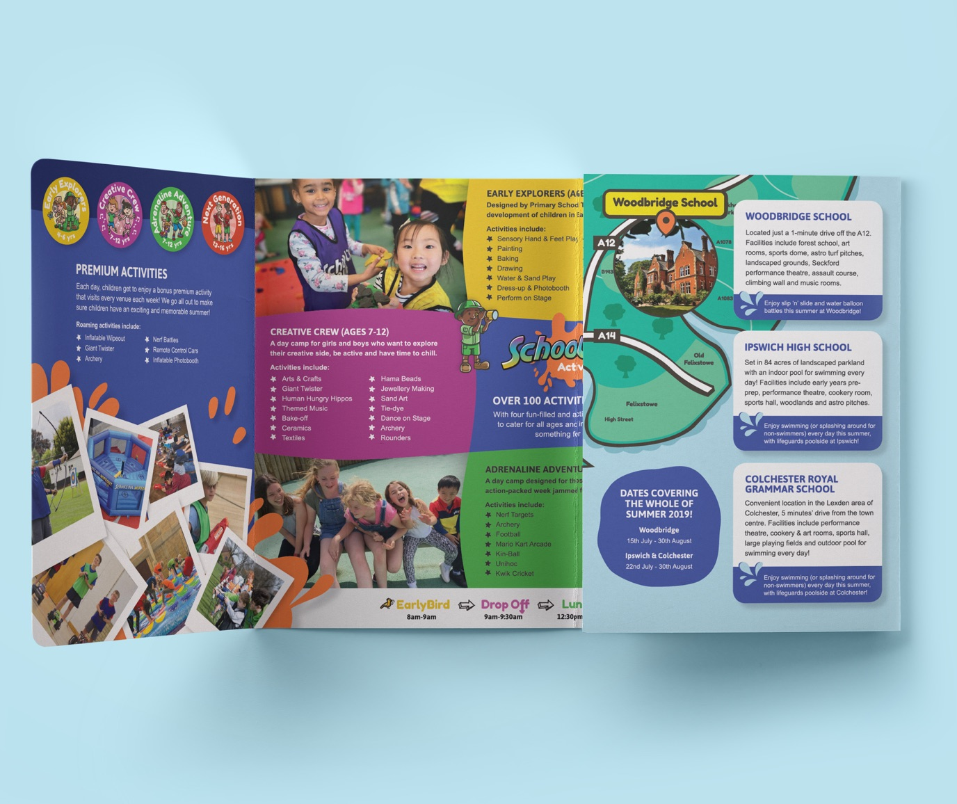 SOA summer brochure