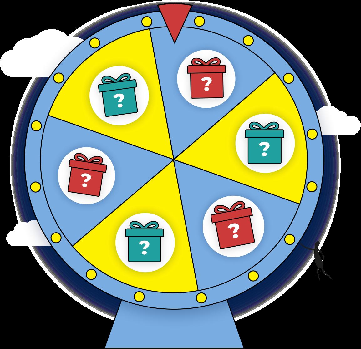 Karmacoin prize wheel