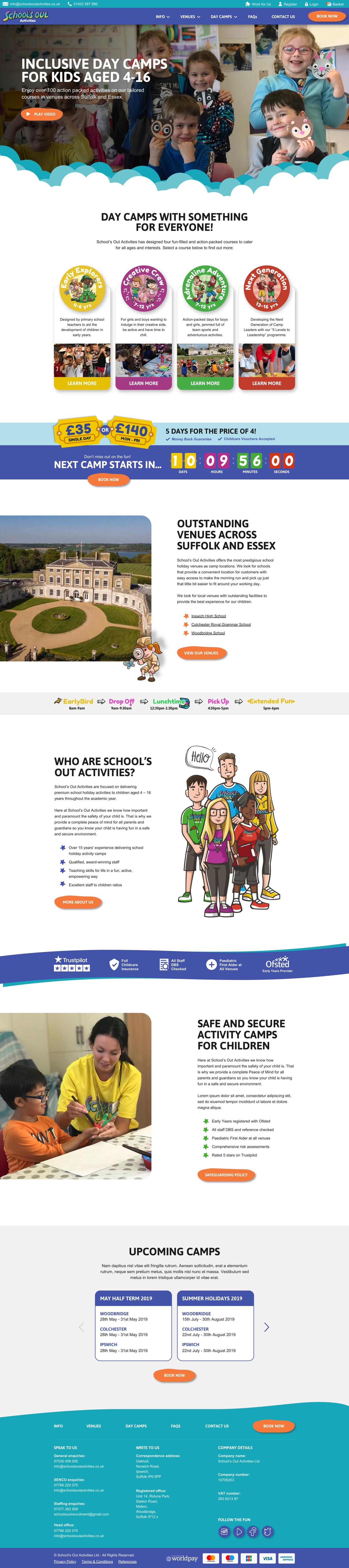 SOA homepage
