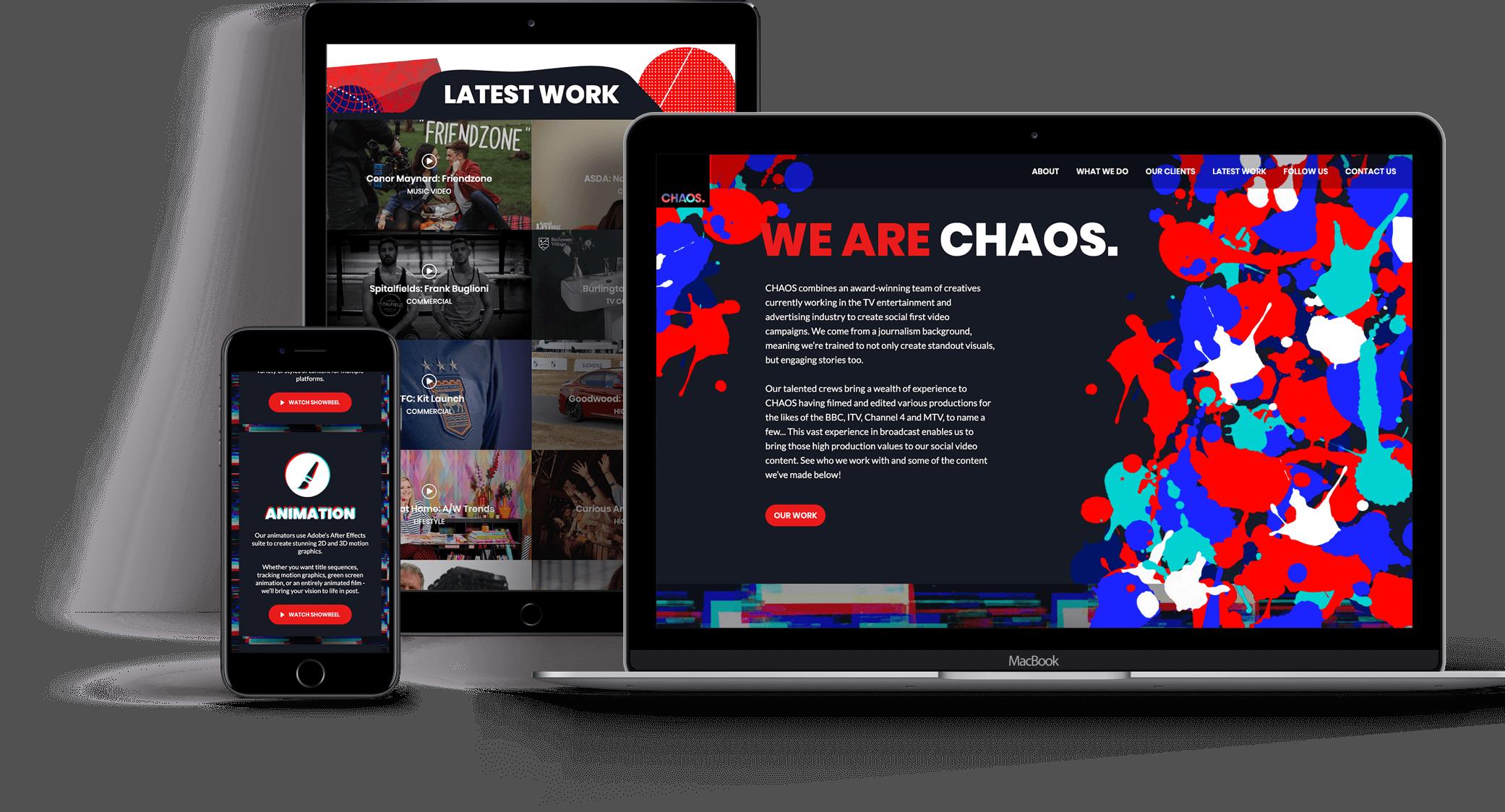 Chaos responsive design