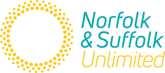 Norfolk & Suffolk Unlimited logo