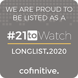 Cofinitive #21toWatch longlist logo