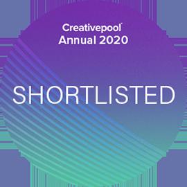 Creativepool Annual 2020 shortlist logo