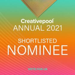 Creativepool Annual 2021 shortlist logo